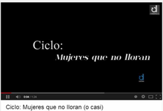 Ciclo Mujeres que no lloran
