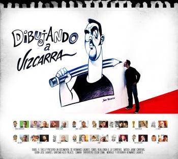Dibujando a Vizcarra