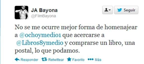 JA Bayona y 8 y Medio