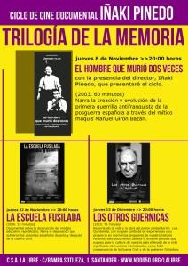 Trilogia de la Memoria Proyecciones