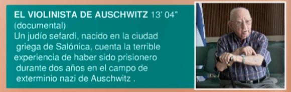 El violinista de Auschwitz