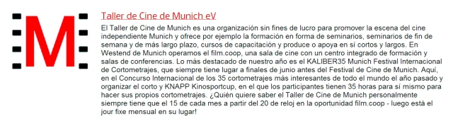 Taller de Cine de Munich