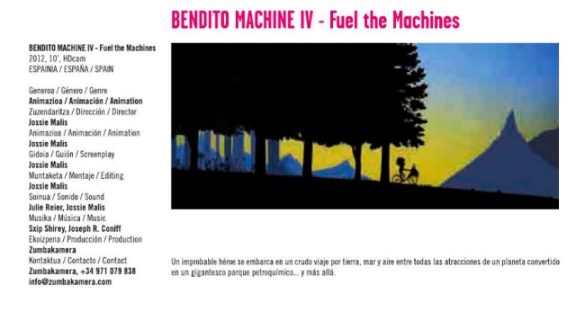 Bendito Machine IV - Fuel the machines