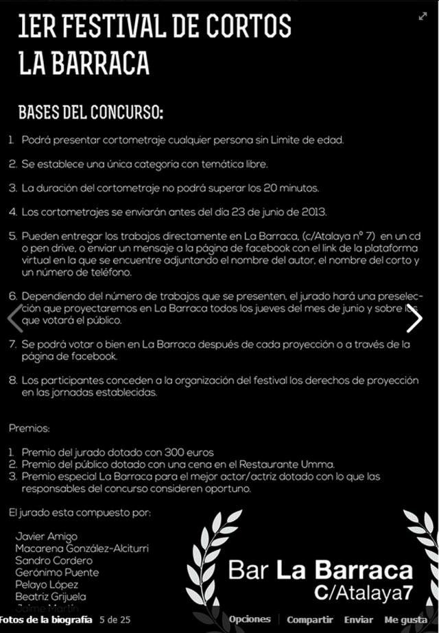 Fcortos LaBarraca Bases