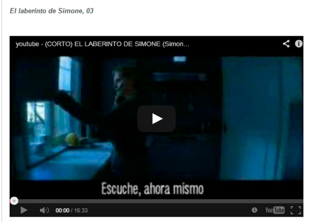 Laberinto de Simone corto