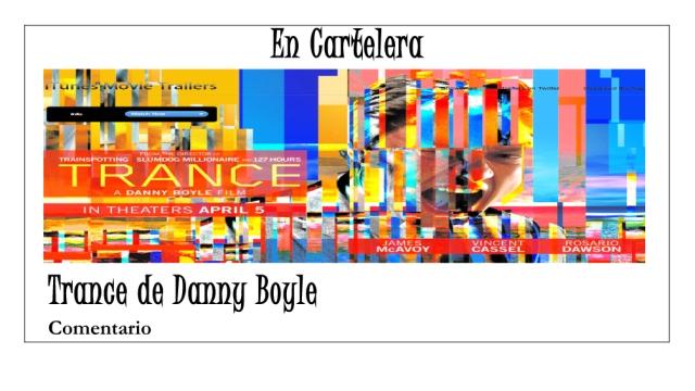 Trance de Danny Boyle comentario