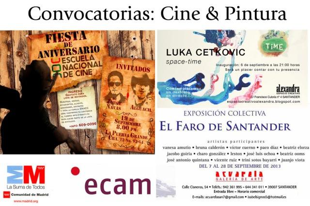 Convocatorias Cine y Pintura