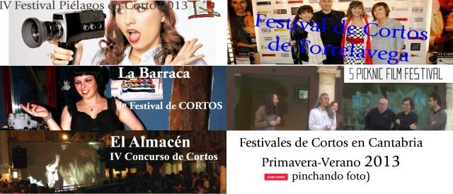 Festivales de Cortos en Cantabria 2013