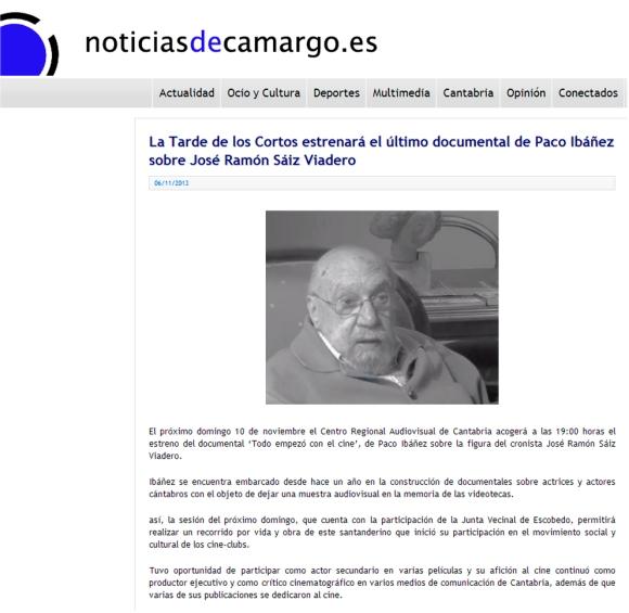 Noticias de Camargo