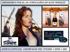 Titanic y Kate Winslet