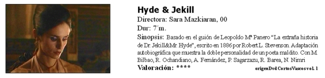 Hyde and Jekill
