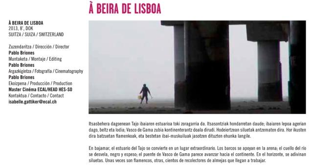 A beira de Lisboa