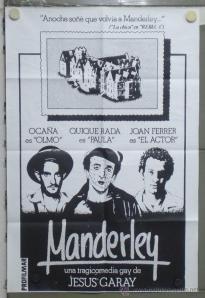 Muestra cine Cantbro MANDERLEY