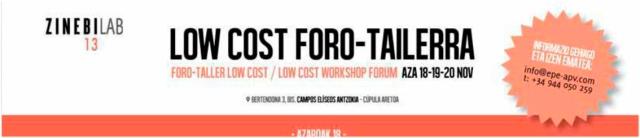 Zinebi 2013 Low cost