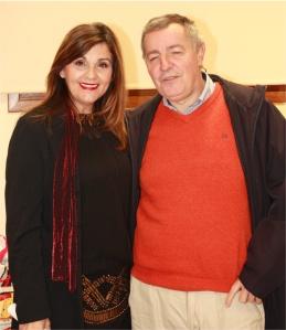 Javi Collantes y Consuelo Carravilla