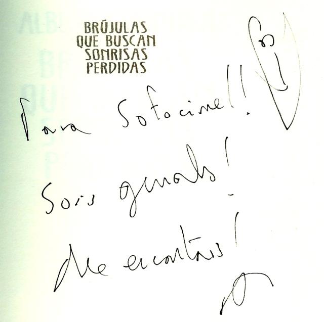 Albert Espinosa Dedicatoria