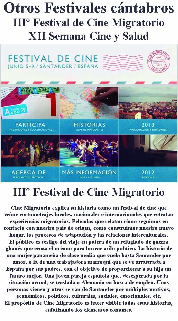 Festivales de Cortos cantabros