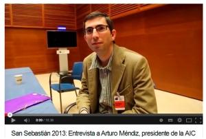 San Sebastián 2013: Entrevista a Arturo Méndiz, presidente de la AIC (Asociación INDUSTRIA del Cortometraje
