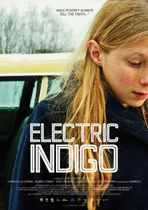 ELECTRIC INDIGO - POSTER