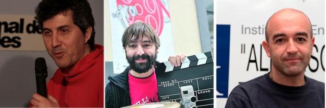 Oscar de Julian, Jorge Rivero, Edu Cardoso