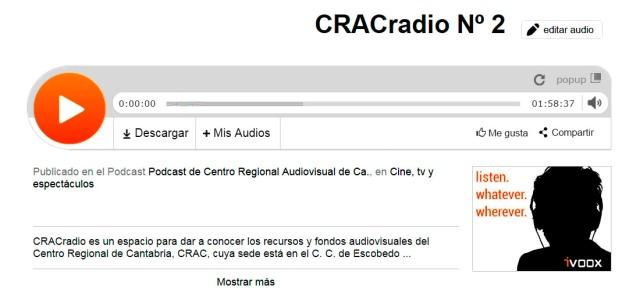 CRACradio Podscat nº 2