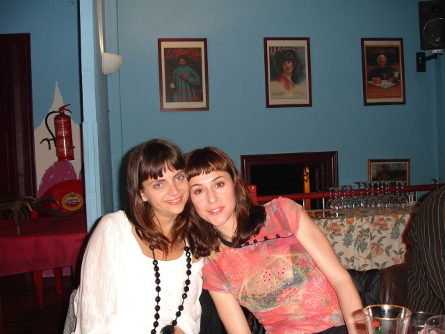 Ruth Diaz y Macarena Gomez