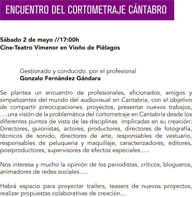 Encuentro Cine Cantabro