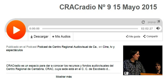 CRACradio Podcast N 9